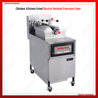 PFE800 Electric Commercial Henny Penny Chicken Pressure Fryer (Digital Computer control panel and With Oil Pump)