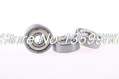 626ZZ Metal Double Shield 6 x 19 x 6mm Deep Groove Ball Bearings 50 Pcs 5 pcs double sealed 3 x 7 x 3mm deep groove ball bearings page 4