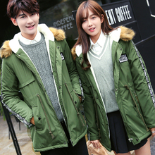 2017 Hot Sale Rushed Conventional Regular 60 Couple Style Winter Padded Coat Men Women Cotton Jacket