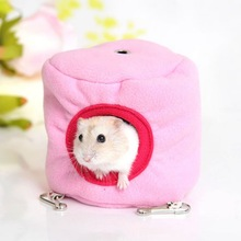 2019 Cute New 10cm X Hammock for Ferret Rabbit Rat Hamster Parrot Squirrel Hanging Bed Toy House