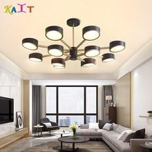 KAIT Led nordic E27 mondern chandeliers ceiling suspension luminaire110 220v modern dining chandelier lighting