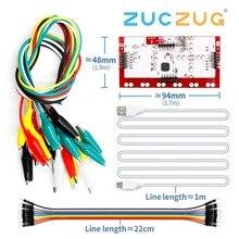 MK набор Делюкс Комплект с USB кабелем Dupond линия Крокодил Зажимы для детей