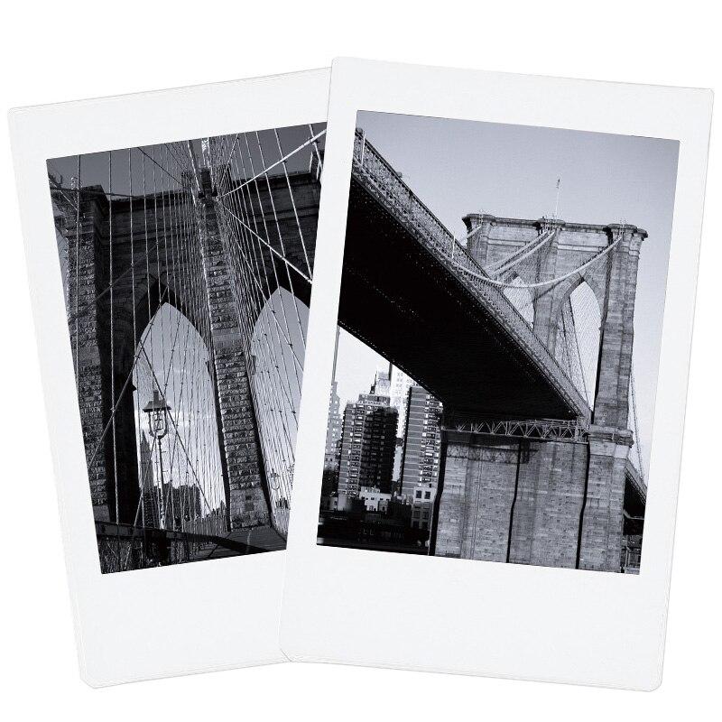 Nouveau 3 paquets Fujifilm Instax Mini Film Monochrome pour Polaroid Mini 8 7 s 7 50 s 50i 90 25 dw partager SP-1 Photo instantanée mini appareil Photo - 3