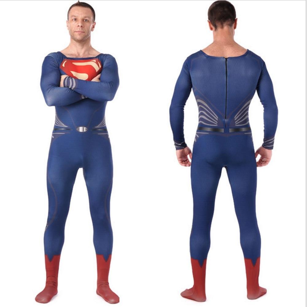 man of steel superman adult costume