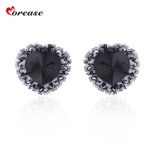Morease Nipple Cover Stickers Sexy Lace Black Breast Pasties Adhesive for Women Sex Toys Flirting Erotic for Couples Adult Game