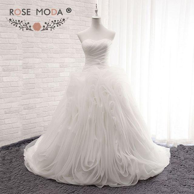 Wedding Dresses Bow Roses