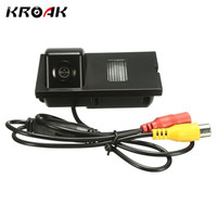 KROAK Car Rear View Camera Reverse Backup Camera For Land Rover Freelander 2 For Discovery 3