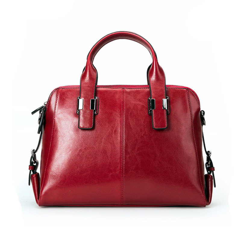 Leather Ladies Handbags Women Leather Bags Casual Fashion Classic Totes Messenger Bags Designer Bag RedLeather Ladies Handbags Women Leather Bags Casual Fashion Classic Totes Messenger Bags Designer Bag Red