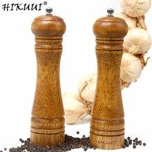 2 шт деревянные Солонка и перечница инструмент три различных комбинаций специи соль и мельница для перца ручная Измельчающие кухонные инструменты