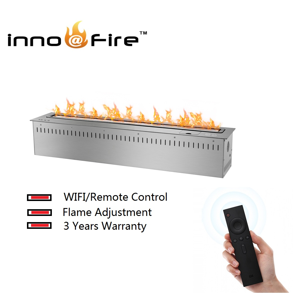 Inno-living  30 Inch 76cm Remote /wifi Control Ethanol Fireplace