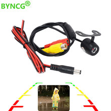 BYNCG автомобильный ПЗС HD Автомобильная камера заднего вида, резервная камера заднего вида с широким углом парковки, водонепроницаемая камера ночного видения