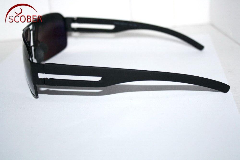 SCOBER luxo Exército Tac Motorista Reforçada Polarizada Para Golf  Polarizada Uv 400 homens Óculos De Sol Com Cartão de Teste em Óculos de sol  de ... 7edb29f76b