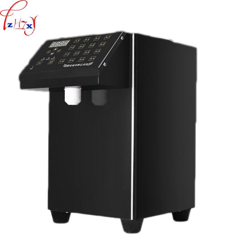Aletler'ten Makine Merkezi'de 1 ADET 220V ET 9N Ticari Süt Çay Dükkanı Otomatik şeker makinesi 16 Izgara Hassasiyetli Mikrobilgisayar Fruktoz Dağıtım Makinesi title=