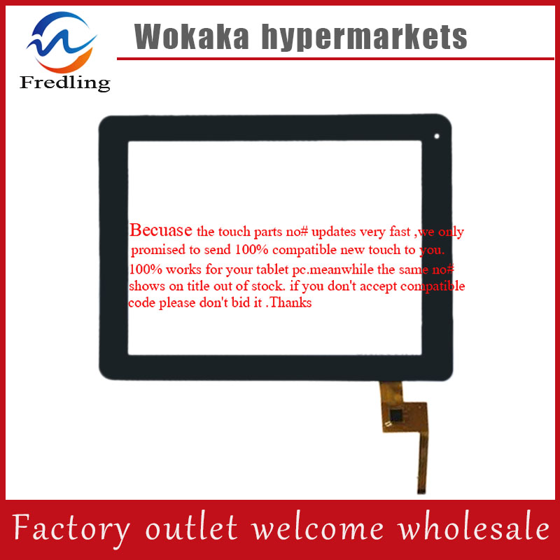 Black 9.7 inch Wolder miTab DIAMOND Tablet  Capacitive touch screen digitizer glass touch panel Free Shipping new 9 inch touch screen for wolder touch panel tablet pc touch panel digitizer qsd e c9011 01 free shipping