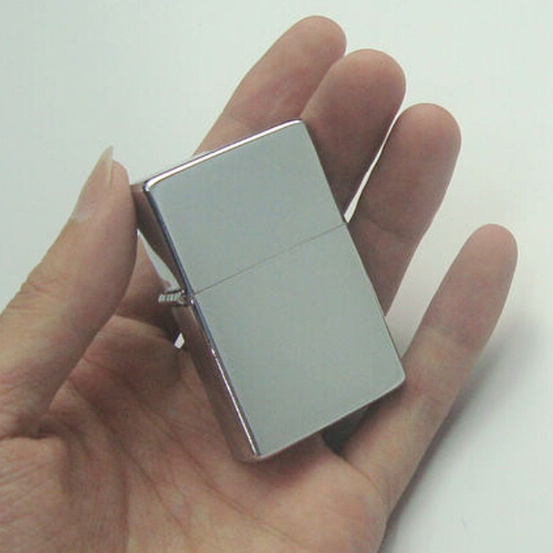 Windproof USB Rechargeable Electronic Matel Cigarette Lighter mirror processing