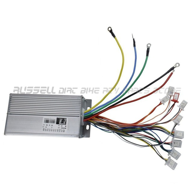 48v 1800W 32A Motor Brushless Speed Controller Box for Go Kart Electric Bicycle Scooter E bike