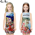 2016 Baby girl dress flower kids clothes princess children dress summer spring toddler girls clothing casual dresses 2-10 year