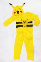 3-7 years Pokemon Pikachu Costume