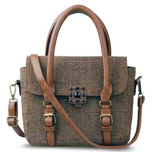 2016 versão Coreana do elegante e elegante cravejado de diamantes saco de retalhos do vintage das mulheres bolsa de ombro bolsa de Presente sacos