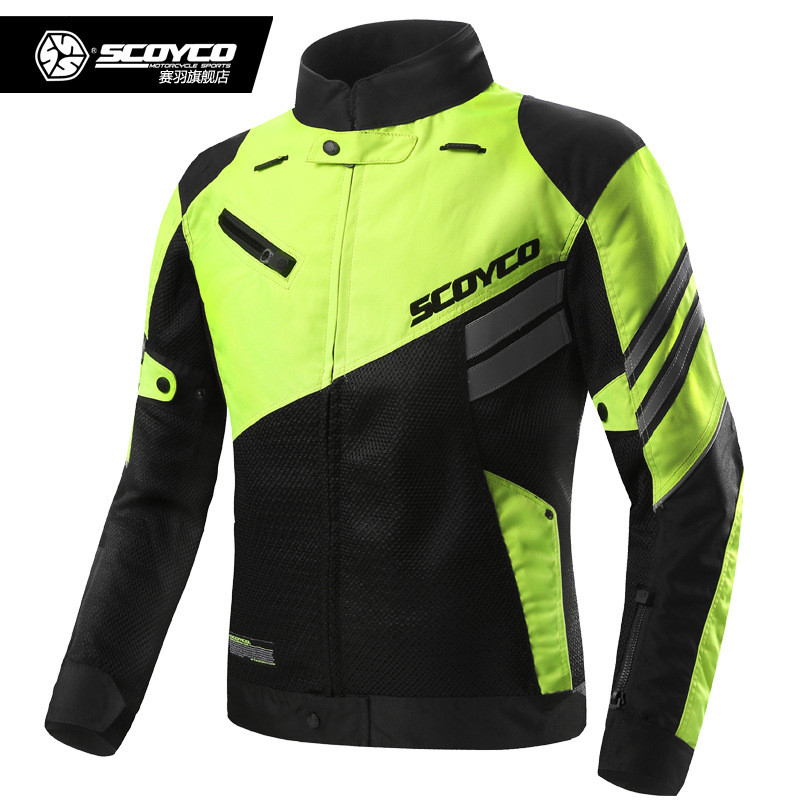 Authentic Scoyco JK36 Motorcycle Racing Riding Tops Tops Locomotive Dismounted Rugged Jackets