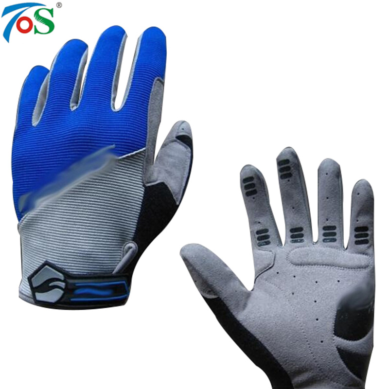 New Brand GEL Full Finger Men Cycling Gloves Slip MTB bike Guantes Racing Sport Breathable Touch Bike Accessories Bicycle Gloves