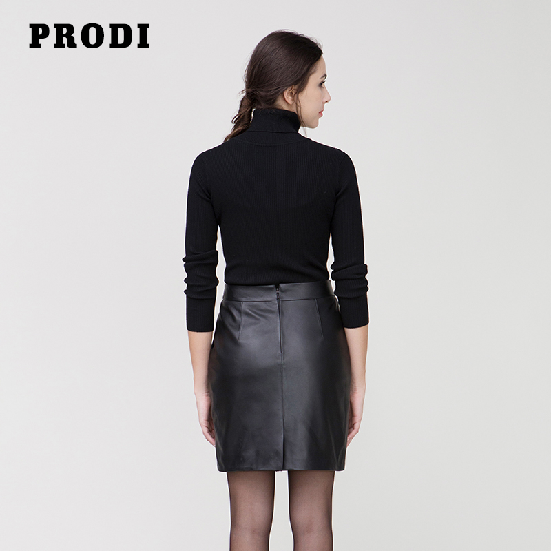 genuine leather mini skirt Picture - More Detailed Picture about ...