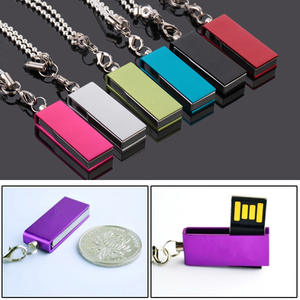 Memory-Stick Drive Free-Customize-Logo Waterproof Usb-Pen Metal Usb 16GB 32GB 8GB Over