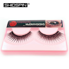 1 Pair Eyelashes Women Makeup Tools False Lashes Brand Makeup Nature Long  Eyelash Extension Black Fake Eyelashes