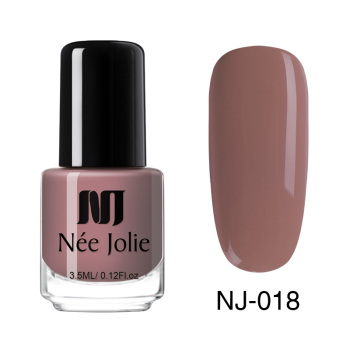 Coffee Gray Red Series Nail Art Polish Beauty & Skin Care Nail Art Color: 3.5ml NJ018
