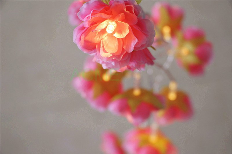 Silk Flower lights 7