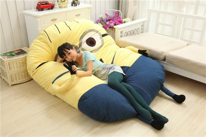 Fancytrader 230cm X 150cm Giant 3D Despicable Me Minion Bed Carpet Sofa Tatami, Free Shipping FT90230 (1)