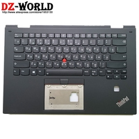 Новый черный верхний регистр с RU русская клавиатура с подсветкой для Thinkpad X1 Йога 2nd C крышку Palmrest 01HY949 01HY909 01HY869 01HY829