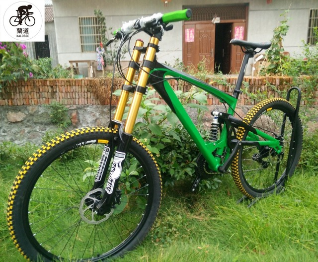 Beste Kalosse bike frame vering AM/FR 26*2.35 inch banden Downhill fiets MM-06
