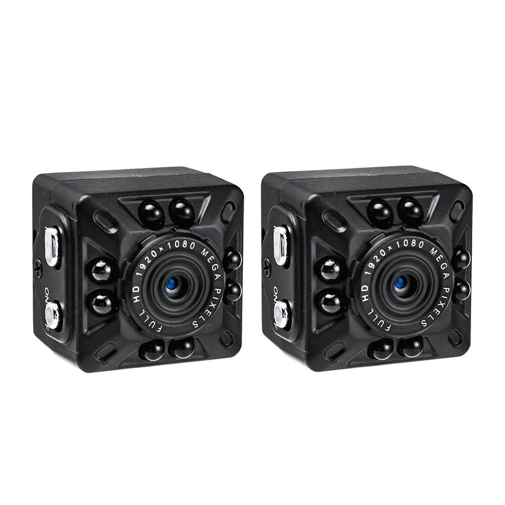 FUERS 2pcs SQ10 1080P Full HD Mini Camera Portable Handheld DV DVR Micro Small Recorder Camcorder Video Audio Digital Camera цена и фото