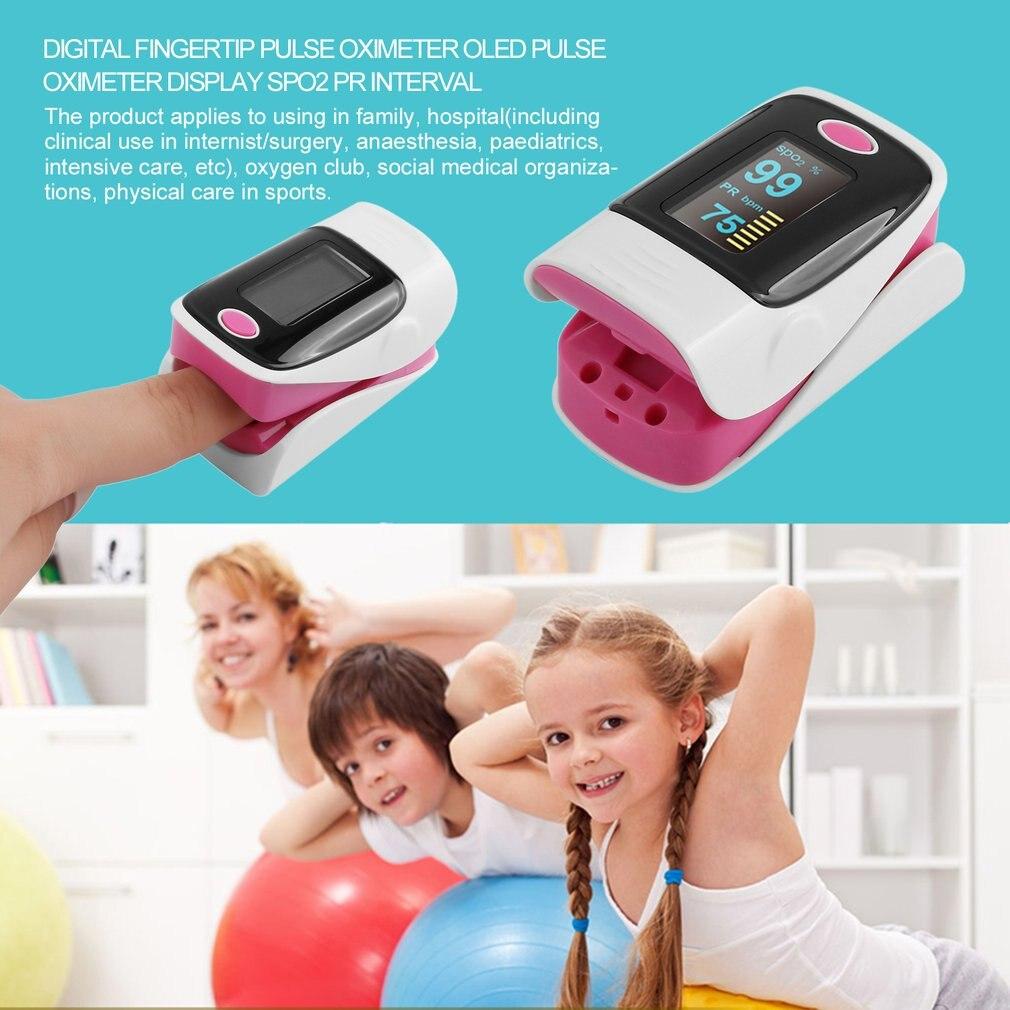 Портативный пальца Пульсоксиметр с OLED Дисплей кислорода крови оксиметра Мониторы измерение пульса инструмент 3 Цвета Горячее предложение