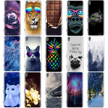 For Sony Xperia XA / XA1 Plus / XA1 Ultra Case Cover Soft Silicone TPU Bags 3D Cute Shell For Sony XA F3111 F3112 Phone Cases(China)