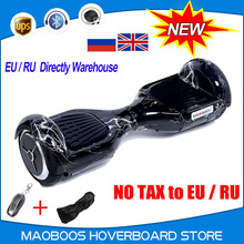 RU stock 6.5 inch electric Hoverboard self balance electric scooter skateboard unicycle overboard skywalker drift board  UL2272