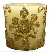Резной столб свечи ручной работы формы силиконовые формы для домашнего декора свечи, DIY силиконовые свеча плесень