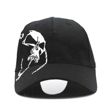 цены 2018 High Quality Unisex 100% Cotton Outdoor Baseball Cap Skull Embroidery Snapback Fashion Sports Hats For Men & Women Cap