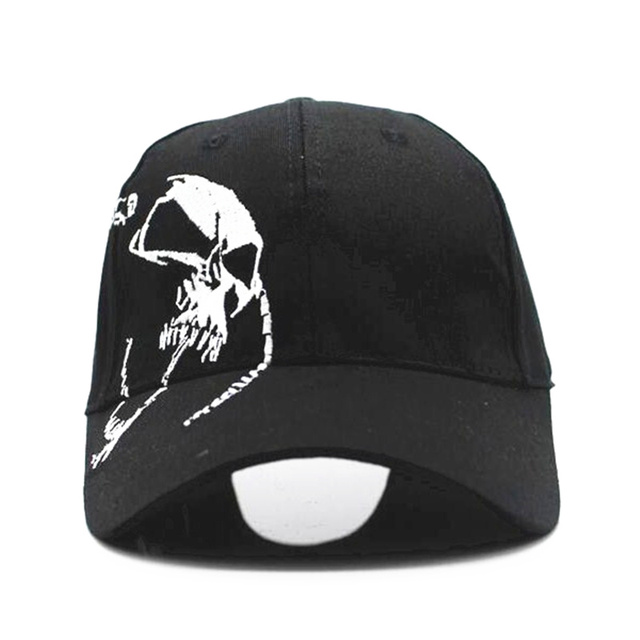 3c73c5909f8 2018 High Quality Unisex 100% Cotton Outdoor Baseball Cap Skull Embroidery  Snapback Fashion Sports Hats For Men   Women Cap