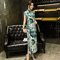 Chinese Dress Vintage Evening Party Fancy Qipao Cheongsam 2 Styles Size S M L XL XXL