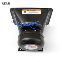 UDMJ 200W Electronic Horn Car Alarm Siren Loudspeaker Horn Plastic Automotive Siren Car Styling Police Horn Megaphone Buzzer