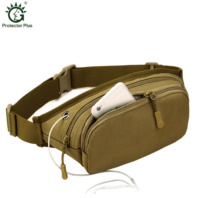 Tactics Waist Pack For Men Women Fanny Pack Bum Bag Hip Money Belt Travelling Mountaineering Bicycle Mobile Phone Bag