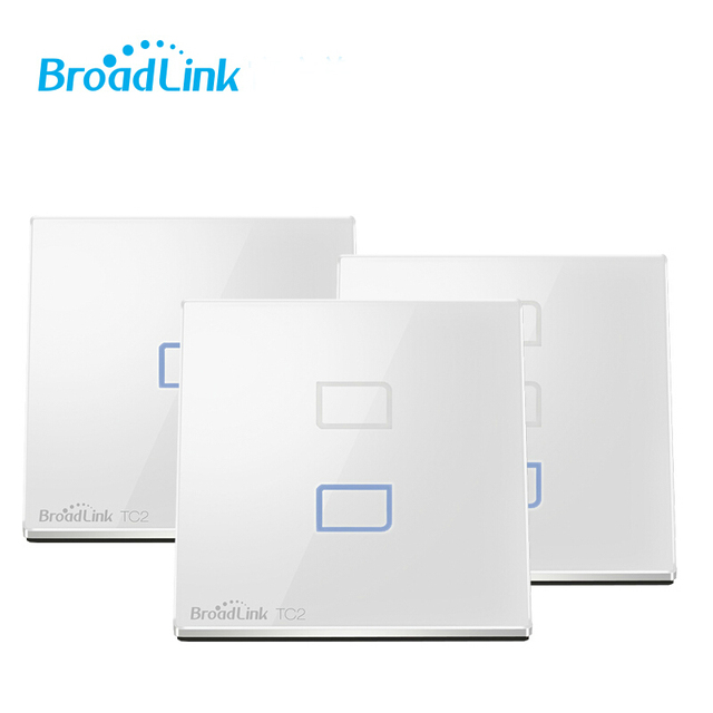 Broadlink digital Wireless Remote Control Wifi Wall Light Touch Switch Smart Home Timer Light Switch Electrical Work with PRO