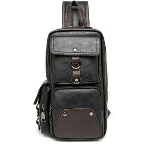 Image 4 - GUMST sacs à bandoulière en cuir pour hommes, sacoche poitrine, nouvelle collection 2020 étanche sac décontracté tendance