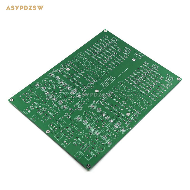 1PCS KG source file version KSA5 Headphone power amplifier bare PCB + 1PCS PSU PCB цена