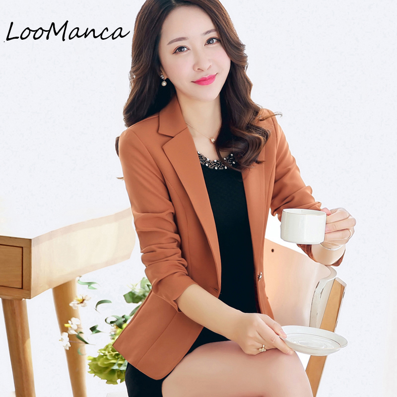 Fashion Women Blazer New 2018 Spring Autumn Outerwear Slim blazers and jackets Female Bl ...