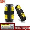 NITECORE F1 F2 مرنة قوة البنك USB ذكي الاصبع ليثيوم شاحن بطارية ل 18650 10440 14500