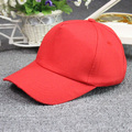 Summer man cap women casual plain solid color hats free snapback sports cap wholesale Visors sun hat