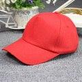 Verano hombre tapa ocasional de las mujeres llanura color sólido sombreros del snapback Viseras del sombrero del sol casquillo de los deportes al por mayor